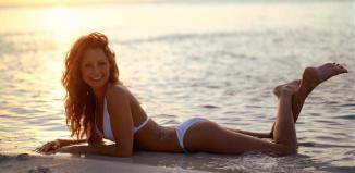 fotoshoot sunny beach
